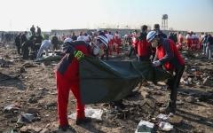 الصورة: الصورة: مفاجأة حول تحطم الطائرة الأوكرانية في إيران