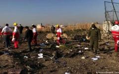 الصورة: الصورة: شاهد.. لحظة إصابة الطائرة الأوكرانية بصاروخ إيراني