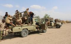 الصورة: الصورة: الحوثيون يتلفون المساعدات الأممية