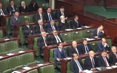 الصورة: الصورة: البرلمان التونسي يرفض منح الثقة لحكومة الحبيب الجملي