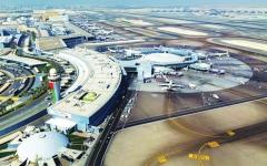الصورة: الصورة: لا تأخير او الغاء للرحلات في مطار أبوظبي بسبب الأحوال الجوية