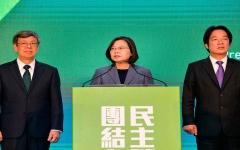 الصورة: الصورة: فوز رئيسة تايوان بولاية ثانية