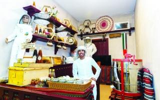 الصورة: الصورة: «ثقافة أبوظبي» في مهرجان الشيخ زايد رحلة تنبض بعبق الماضي