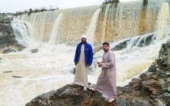 الصورة: الصورة: أمطار غير مسبوقة في الإمارات منذ 1996