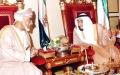الصورة: الصورة: رئيس الدولة ينعى قـابوس ويعلن الحداد وتنكيس الأعلام 3 أيام