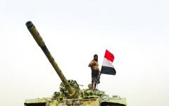 الصورة: الصورة: القوات المشتركة تدق أبواب الحشا في اليمن
