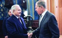 الصورة: الصورة: تجميد التدخل التركي.. انتهاء المحادثات الليبية في موسكو من دون اتفاق