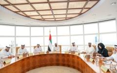 الصورة: الصورة: محمد بن راشد يطلق منطقة للاقتصاد الجديد وصندوقاً بمليار درهم
