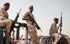 الصورة: الصورة: الحكومة السودانية: القوات المسلحة قادرة على حسم التمرد