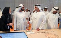 الصورة: الصورة: محمد بن راشد: أفكار محمد بن زايد المستقبلية حققت ريادة الإمارات
