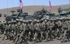الصورة: الصورة: تحضيرات لنقل قوات أمريكية ضخمة إلى أوروبا