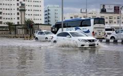الصورة: الصورة: الإمارات تسجل أعلى هطولات مطرية في يناير منذ 24 عاماً