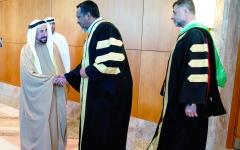 الصورة: الصورة: سلطان القاسمي: جامعة الشارقة تشهد تطوراً أكاديمياً على أعلى مستوى