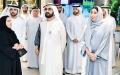 الصورة: الصورة: محمد بن راشد: دبي ستبقى بيت الإعلاميين وناديهم وبلدهم