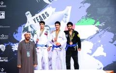 الصورة: الصورة: 47 ميدالية والصدارة للإمارات في «أبوظبي غراند سلام للجوجيتسو»