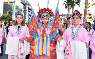 الصورة: الصورة: القنصلية الصينية في دبي تحتفل بالعام الصيني الجديد