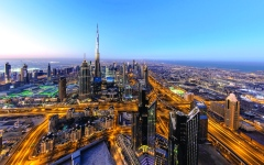 الصورة: الصورة: دبي النقطة المضيئة في الشرق الأوسط