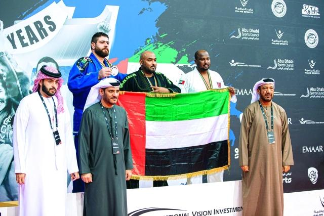 121 ميدالية لأبطال الإمارات في « أبوظبي غراند سلام للجوجيتسو» - البيان