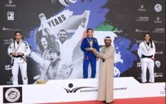 الصورة: الصورة: 86  ميدالية تضع الإمارات في صدارة بطولة أبوظبي جراند سلام للجوجيتسو