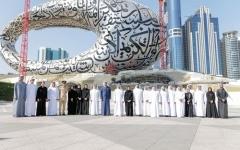 الصورة: الصورة: حمدان بن محمد يعتمد استراتيجية مؤسسة دبي للمستقبل لـ 3 سنوات