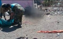 الصورة: الصورة: عشرات القتلى في مجزرة حوثية بمأرب