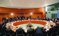 الصورة: الصورة: مطالبة تركيا بوقف إرسال مرتزقتها إلى ليبيا تخيّم على مؤتمر برلين