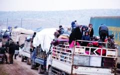 الصورة: الصورة: هدوء مؤقّت في إدلب و«الدستورية» في مهب الريح