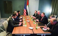 الصورة: الصورة: عبدالله بن زايد:  الإمارات تدعم تحقيق الأمن والاستقرار في ليبيا
