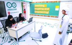 الصورة: الصورة: مقابلات عبر «سكايب» لاختبار المشاركين في «حمدان التعليمية»