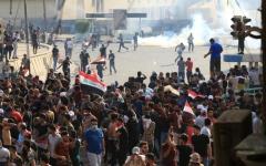 الصورة: الصورة: ثلاثة قتلى بتجدد التظاهرات في العراق