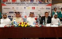 الصورة: الصورة: أبيض السلة يواجه مايتي  بافتتاح «دولية دبي»