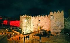 الصورة: الصورة: الاحتلال يُحول القدس إلى ثكنة عسكرية