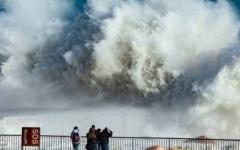 """الصورة: الصورة: بالفيديو.. العاصفة """"غلوريا"""" تقتل 9 أشخاص في إسبانيا"""
