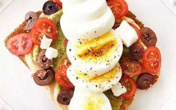 الصورة: الصورة: وجبة إفطار غنية للتخلص السريع من الوزن الزائد