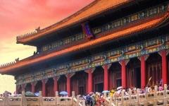 الصورة: الصورة: إغلاق المدينة المحرمة في بكين خوفاً من كورونا