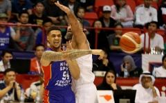 الصورة: الصورة: منتخب السلة يخسر من الفلبيني في افتتاح دولية دبي