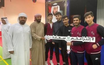 الصورة: الصورة: شرطة دبي تعزّز التواصل بـ«التزامكم سعادة»