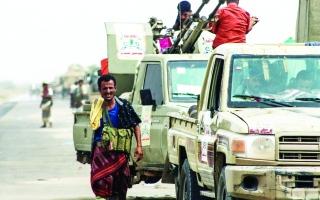 الصورة: الصورة: ارتباك حوثي في عدة جبهات باليمن