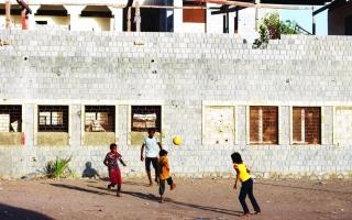 الصورة: الصورة: أطفال الساحل الغربي يواجهون ألغام الموت الحوثية