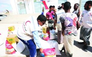 الصورة: الصورة: بدعم إماراتي.. افتتاح أكبر مركز إنزال سمكي غرب اليمن