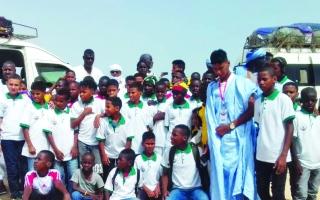 الصورة: الصورة: موريتانيا.. يعقوب رجل كرس حياته لأطفال الشوارع