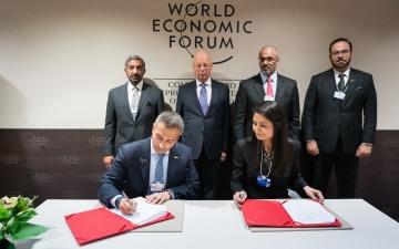 الصورة: الصورة: اتفاقية بين الإمارات والمنتدى الاقتصادي العالمي لتطوير مهارات مليار شخص