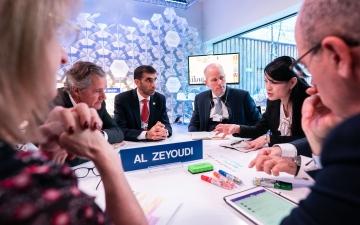 الصورة: الصورة: الزيودي: الإمارات سباقة عالمياً في تطبيق منظومة التكيف مع تداعيات التغير المناخي