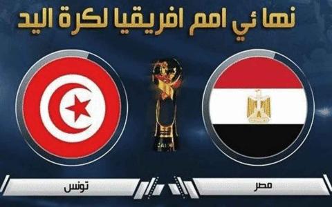الصورة: الصورة: مصر تهزم الجزائر وتلحق بتونس في نهائي بطولة أفريقيا لكرة اليد