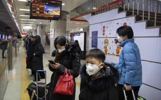 الصورة: الصورة: الصين تأمر بإجراءات على مستوى البلاد للكشف عن كورونا على وسائل النقل