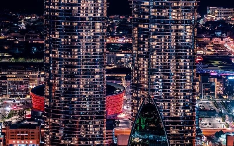 الصورة: الصورة: إعمار تحتفل رسمياً بافتتاح الأيقونة الجديدة في أفق دبي