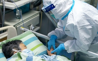 الصورة: الصورة: الصين تعلن تحقيق أول نجاح في علاج مرضى فيروس كورونا