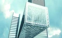 الصورة: الصورة: دبي تنجز أعلى مبنى معلّق في العالم منتصف 2020
