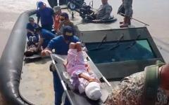 الصورة: الصورة: بالصور.. العثور على أم وأطفالها الثلاثة بعد فقدانهم في أدغال كولومبيا لمدة 34 يومًا