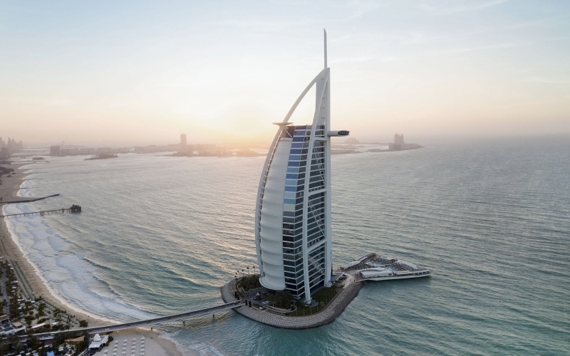 الصورة: الصورة: برج العرب.. «الفندق الأفضل عالمياً»